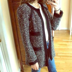 NANETTE LEPORE tweed jacket size 4